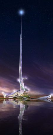 صور تصميم برج من الخارج (2)