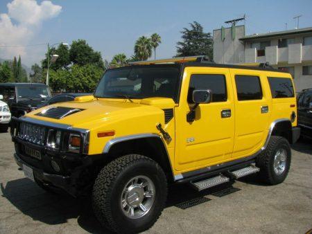 صور سيارات همر صفراء (2)