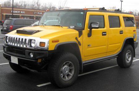 صور سيارات همر صفراء (3)