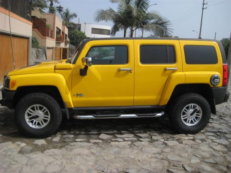 صور سيارات همر صفراء (4)