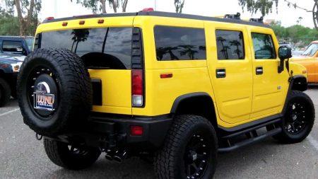 صور سيارات همر صفراء (5)
