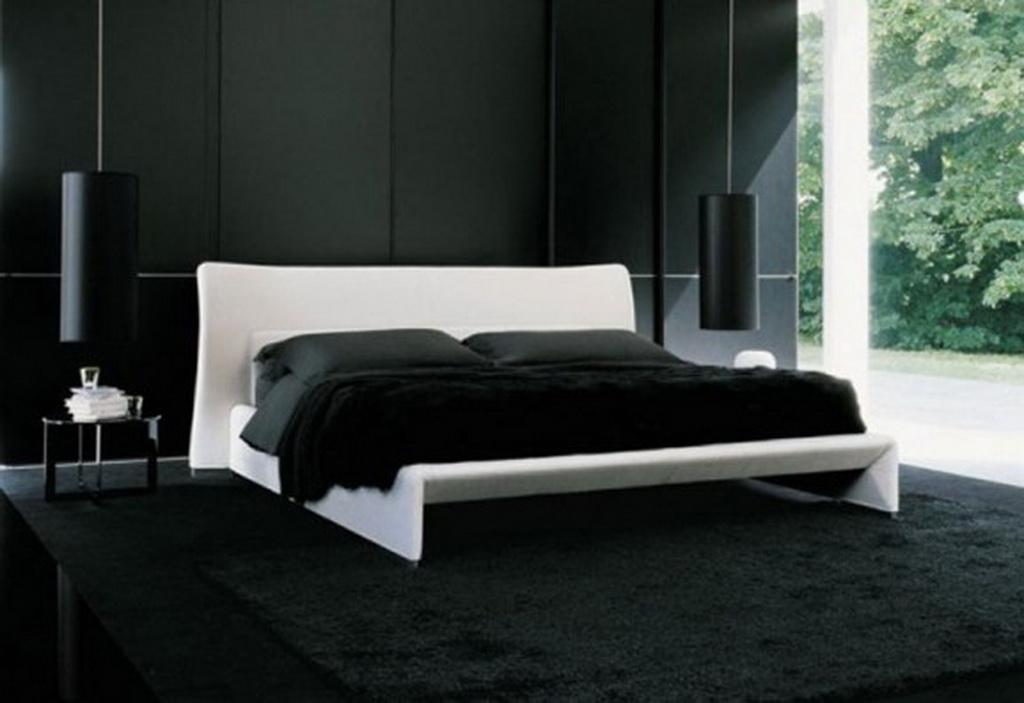 صور غرف نوم سوداء ديكورات غرف عرسان باللون الأسود | ميكساتك