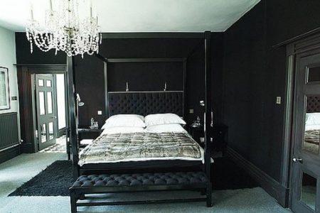 صور غرف نوم سوداء (2)