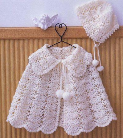 93f104b00712a ... صور فساتين وملابس كروشية اطفال جديدة وشيك (4)