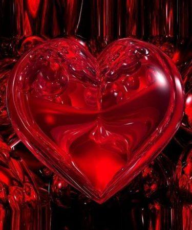 صور قلوب مجروحة وحزينة قلوب حب حمراء  (2)