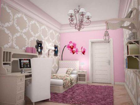 صور لتصميم غرف البنات (1)