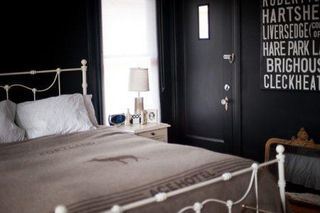 كتالوج غرف نوم باللون الاسود (3)