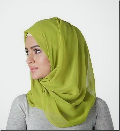 ceabe1ea62098 لفات طرح شيفون بأحدث لفات حجاب مودرن وجديدة