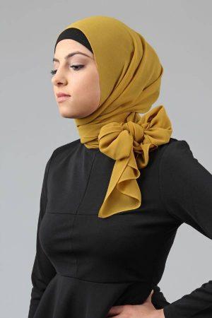 لفات طرح شيفون بأحدث لفات حجاب مودرن وجديدة (1)