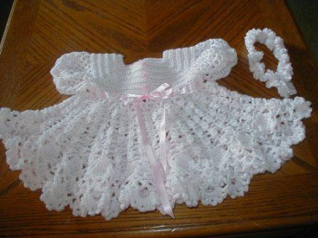 ملابس اطفال كروشيه  (3)
