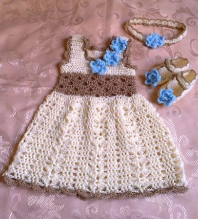 ملابس اطفال كروشيه  (4)