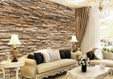 ورق جدران ثلاثي الابعاد 3D بديكورات وتصميمات مودرن (2)