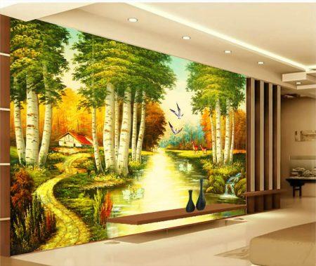 ورق جدران وحوائط ثلاثي الأبعاد (2)
