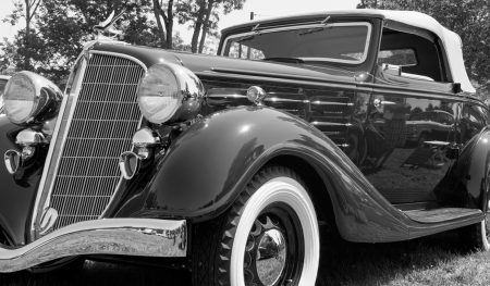 Hudson classic antique car
