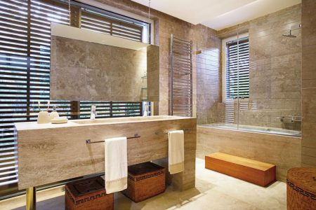 احدث صور تصميمات وديكورات حمامات 2017 (1)