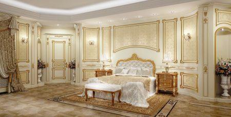 احدث صور غرف نوم كلاسيكية (4)