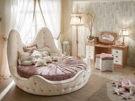 احلي صور سرير دائري (1)