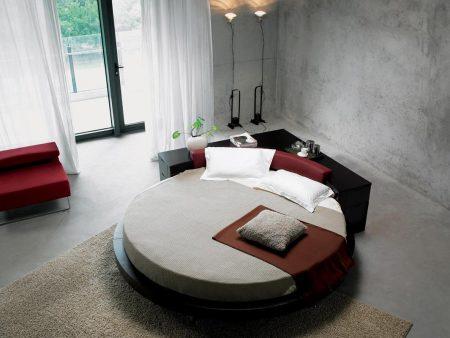 احلي صور سرير دائري (2)