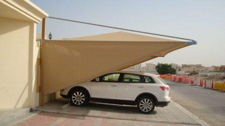 اشكال مظلات انتظار السيارات (4)