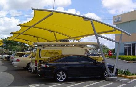 تركيب مظلات سيارات  (1)