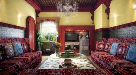 تصميمات واشكال صالونات مغربية (3)