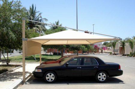 تصميم مظلات سيارات  (1)