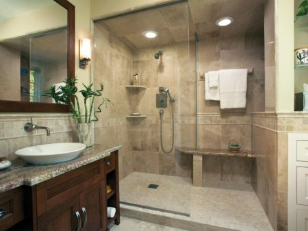حمامات 2017 صور ديكورات حمام جديدة مودرن فخمة شيك (1)