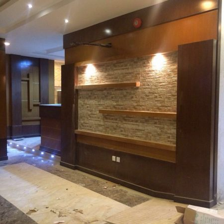 ديكورات خشب جدران  (3)