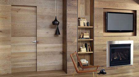ديكورات خشب على الحائط  (1)