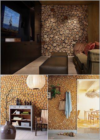 ديكورات خشب للشقق والفلل تصميمات خشبية مودرن (1)