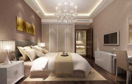 ديكورات غرف نوم كلاسيك (3)