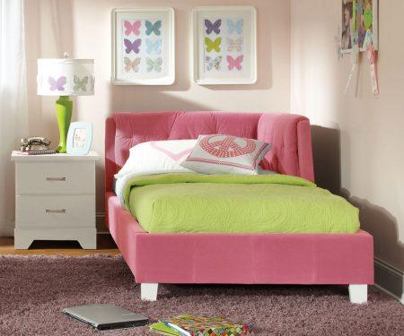 ديكور سرير بنات (1)