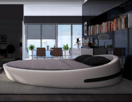 سرير فخم مودرن دائري (1)