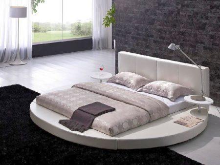 سرير فخم مودرن دائري (3)