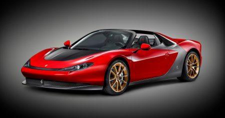 سيارات فيراري حمراء (4)