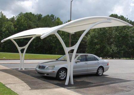صور اشكال وتصميمات مظلة السيارات (2)