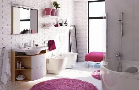 صور اطقم حمامات للفلل والقصور والشقق الكبيرة الفخمة (1)