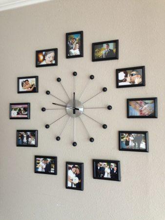 صور ساعات حائط مودرن بأشكال شيك للشقق والفلل (1)