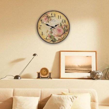 صور ساعات حائط مودرن بأشكال شيك للشقق والفلل (4)