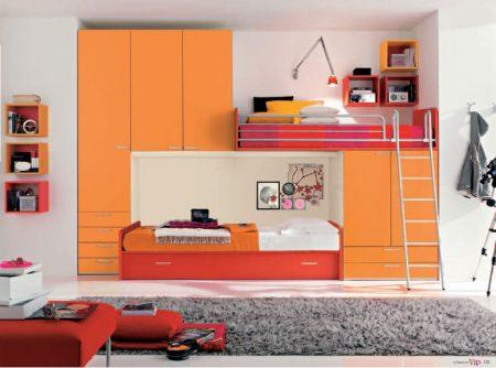 صور سرير بنات مودرن بالوان بناتي روعة وجديدة (2)