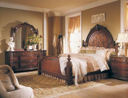 صور غرف نوم كلاسيكية فخمة جدا (2)