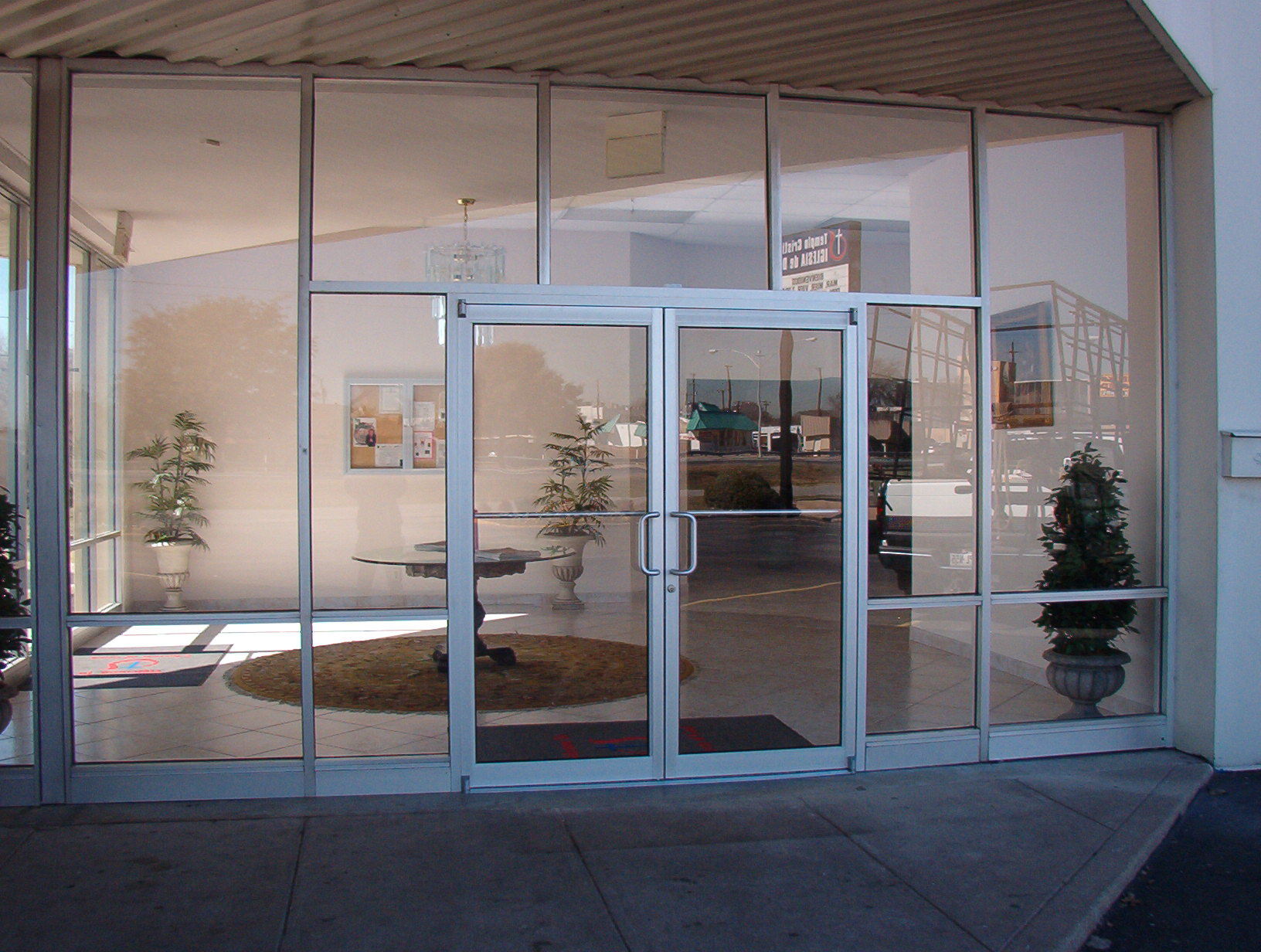 for Exterior glass doors for churches
