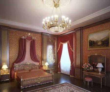 غرف فلل كلاسيكية (1)
