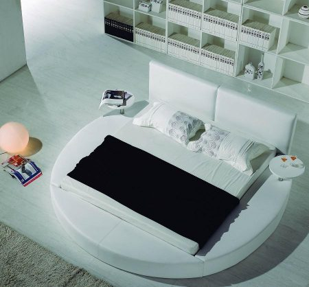 غرف نوم بسرير دائري (2)