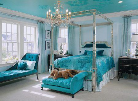 غرف نوم تركية كاملة بديكورات فخمة لغرف العرسان (4)