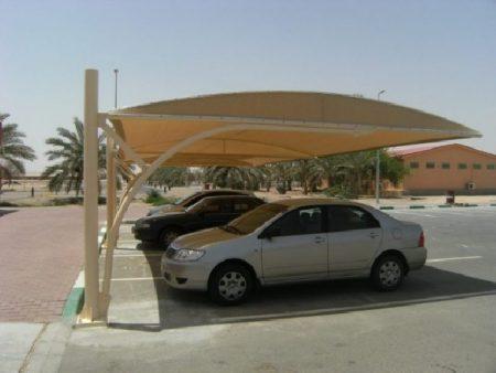 مظلات سيارات في صور وتصميمات حديثة للفلل والقصور (4)