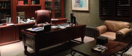 مكاتب فخمة بديكورات حديثة مودرن (1)