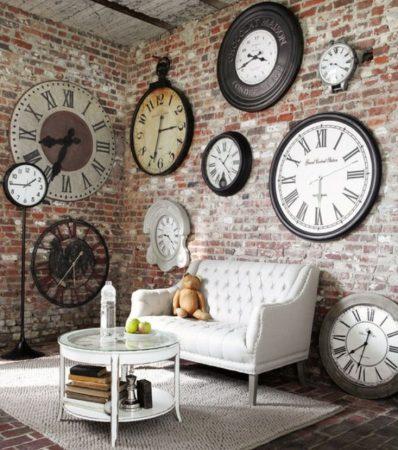 موديلات ساعات حائط (2)