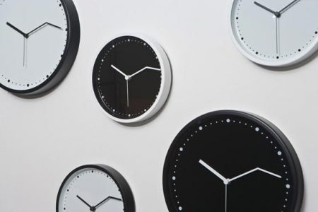موديلات ساعات حائط (3)