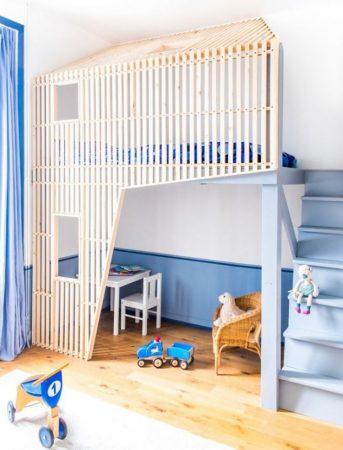 احدث سراير اطفال مودرن 2017 غرف اطفال فخمة (1)